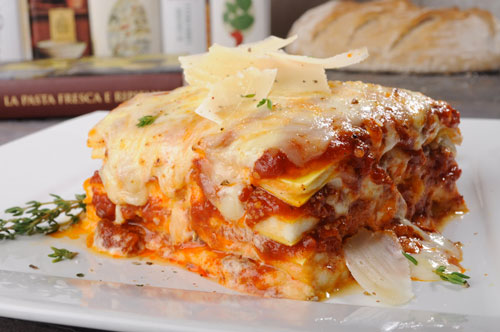 Lasagna with Traditional Ragù alla Bolognese